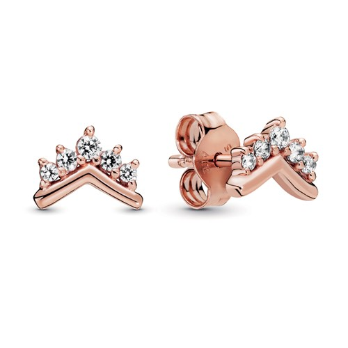 Pandora Rose™ Tiara Wishbone Stud Earrings 288274CZ