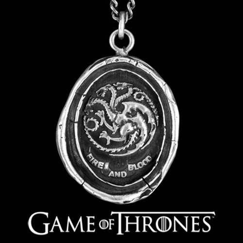 Pyrrha Game of Thrones - House Targaryen Necklace