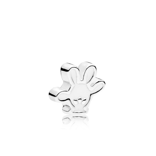 PANDORA Disney Mickey Glove Petite Locket Charm 796349EN12