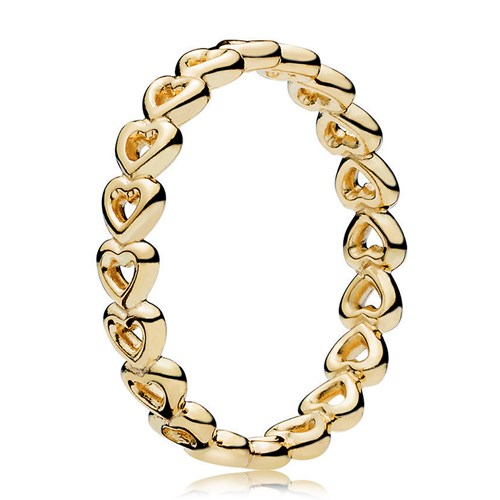 PANDORA Shine™ Linked Love Ring