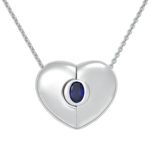 Petra Azar September Heart Necklace
