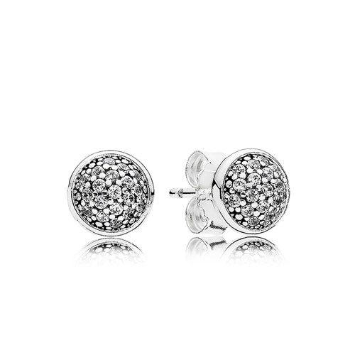 PANDORA Dazzling Droplets with Clear CZ Earrings