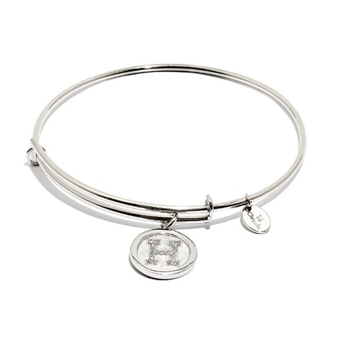 Chrysalis Initial H Bangle Bracelet