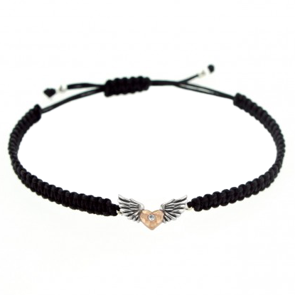 Lori Bonn Hot Wings Macrame Bracelet