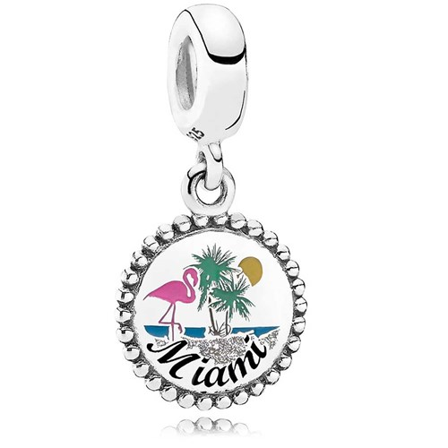PANDORA Miami Beach Dangle Charm ENG791169_89