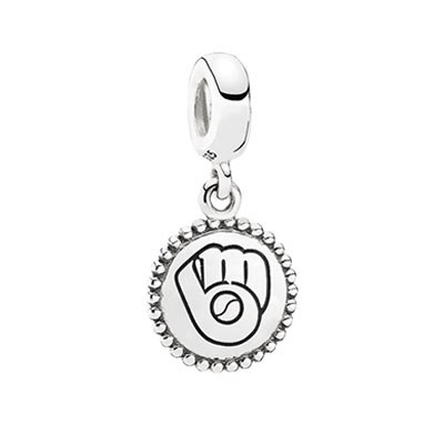 PANDORA Milwaukee Brewers Baseball Charm