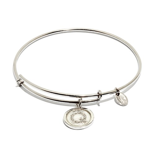 Chrysalis Initial Q Bangle Bracelet