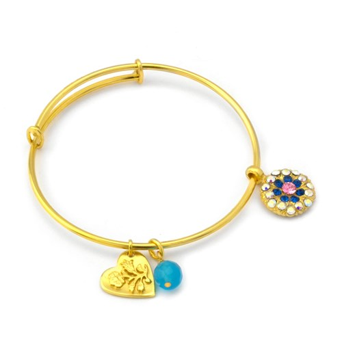 Mariana Kiss From A Rose Angel Bangle
