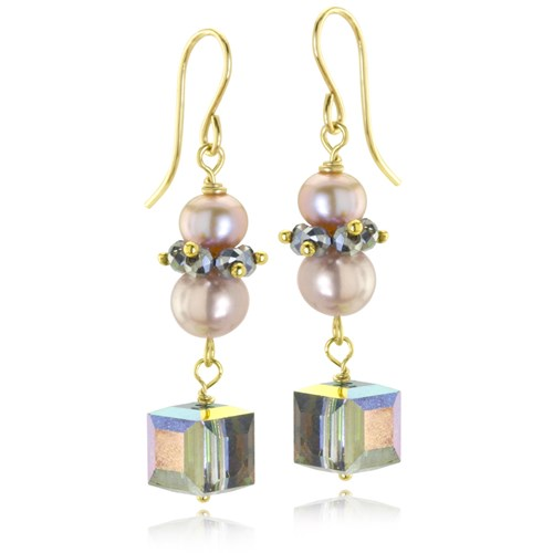 The Goddess Collection Pearl dangles 10744E
