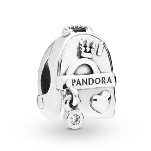 PANDORA Adventure Bag Charm 797859CZ