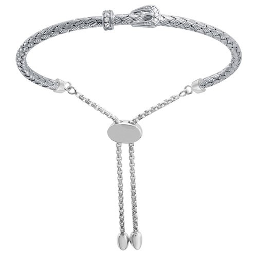 Alice CZ Buckle Friendship Bracelet