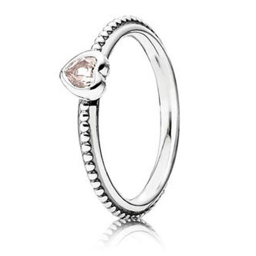 e89e5e0a2 PANDORA One Love with Light Pink Ring - RETIRED!