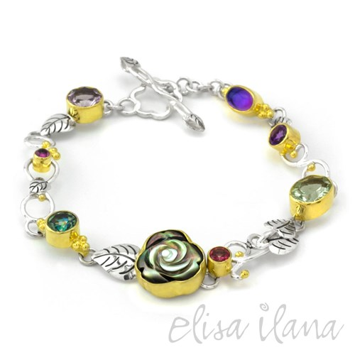 Michou Rose Enchanted Garden Bracelet