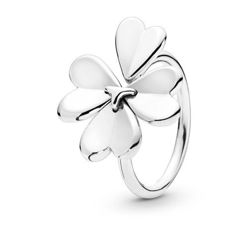 PANDORA Moving Clover Ring 197949