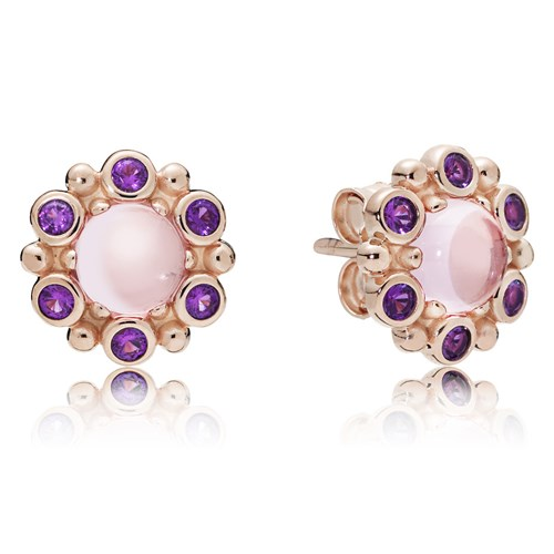 PANDORA Rose™ Heraldic Radiance Earrings 287728NPM