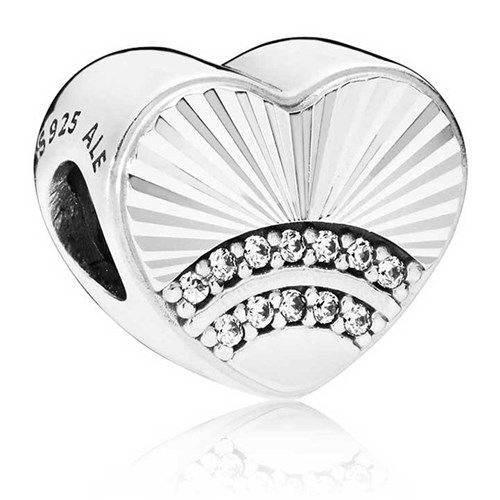 PANDORA Fan of Love Charm 797288CZ