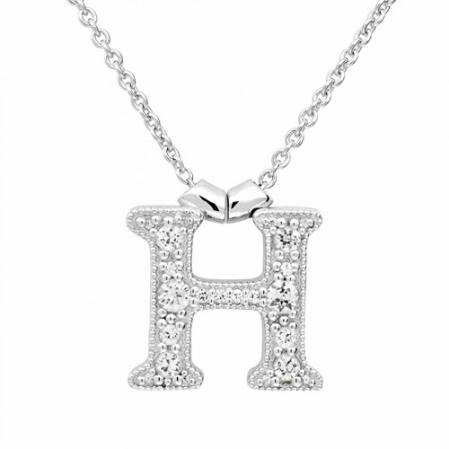 Petra Azar Initial H Necklace