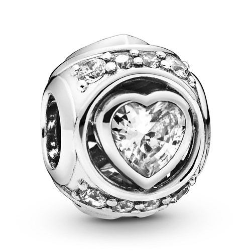 Pandora Elevated Heart Charm 798464C01