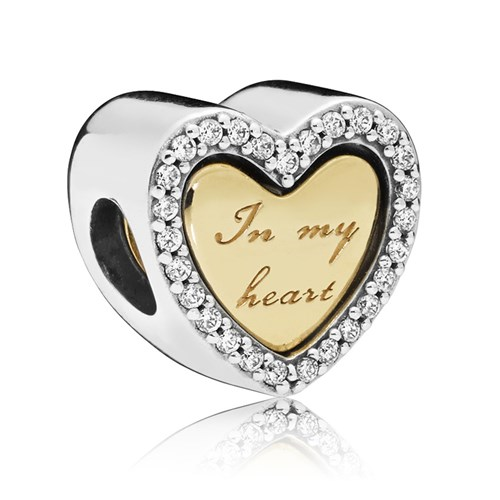 PANDORA Shine™ In My Heart Charm 767606CZ