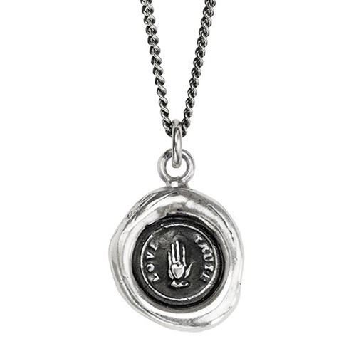 Pyrrha Love Truth Talisman Necklace