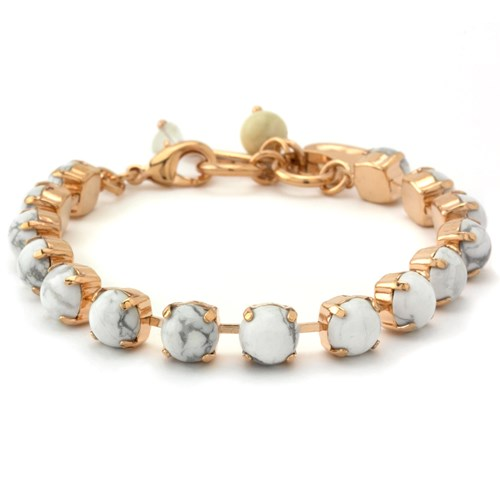 Mariana White Howlite Bracelet
