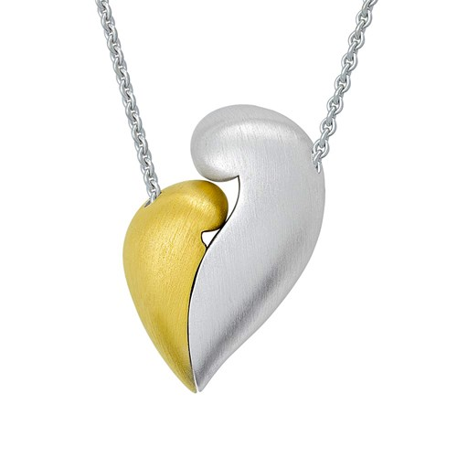 Petra Azar No Greater Love Two Tone Necklace