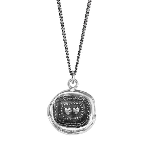 Pyrrha Long Distance Love Talisman Necklace