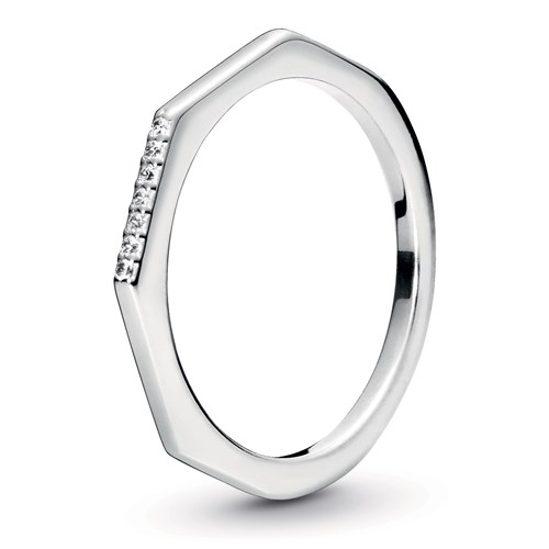 Pandora Multifaceted Ring 198343CZ