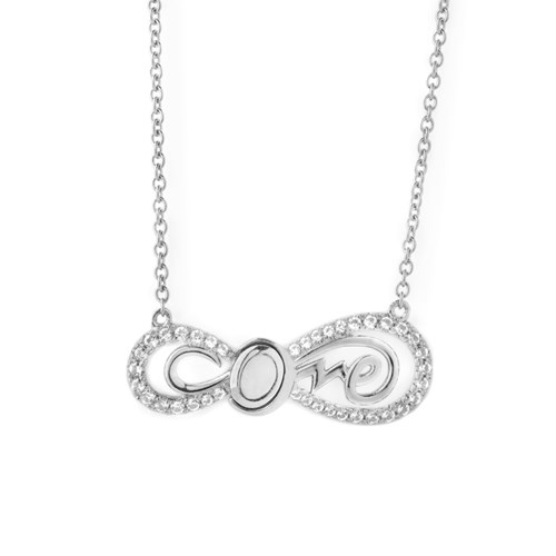 Petra Azar Infinity Love Necklace