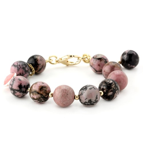 Elisa Ilana Lollies Rhodonite Bracelet 346042