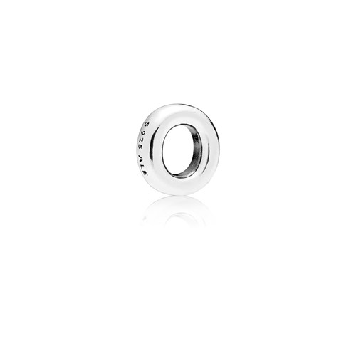 PANDORA Letter O Floating Petite Locket Charm 797333