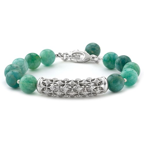 Elisa Ilana Lollies Amazonite Bracelet