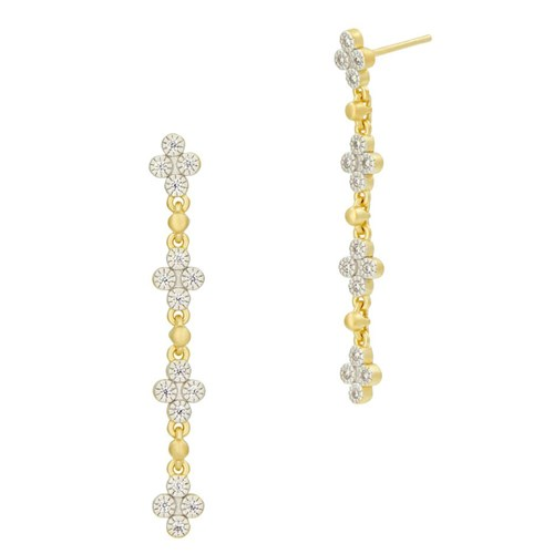Freida Rothman Visionary Fusion Clover Earrings