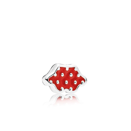 PANDORA Disney Minnie Skirt Red Enamel Petite Locket Charm 796519EN09