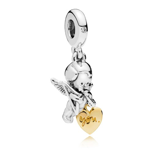 PANDORA Shine™ Cupid & You Dangle Charm 767796CZ