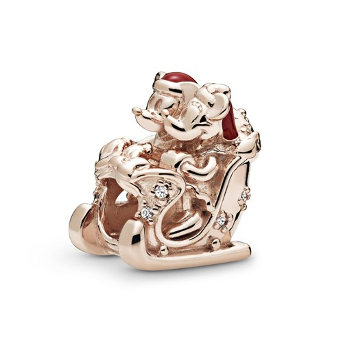 Pandora Rose™ Disney Minnie & Mickey Christmas Sleigh Charm B801238