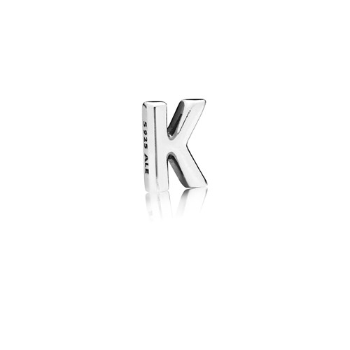 PANDORA Letter K Floating Petite Locket Charm 797329