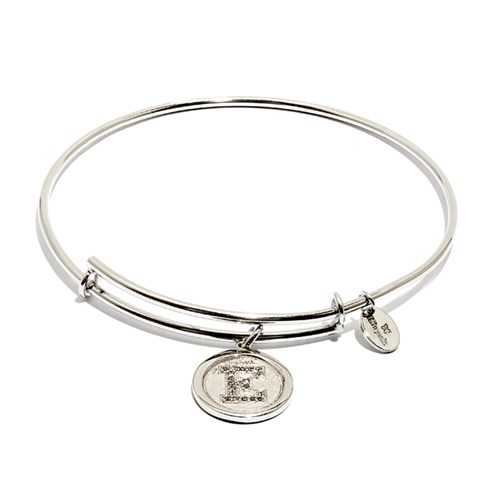 Chrysalis Initial E Bangle Bracelet
