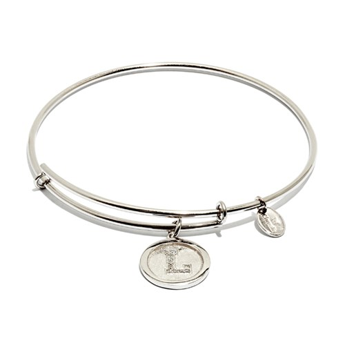 Chrysalis Initial L Bangle Bracelet