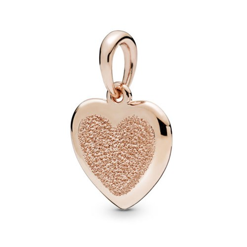 PANDORA Rose™ Matte Brilliance Heart Pendant 387926