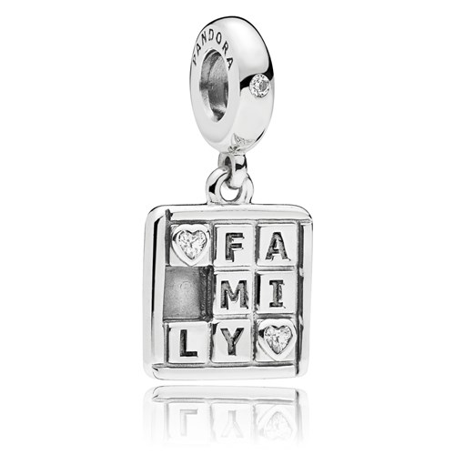PANDORA Family Game Charm 797626CZ