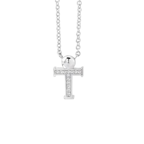 Petra Azar Mini Initial T Necklace
