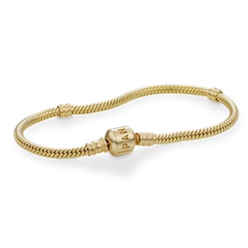Pandora 14k With Clasp Bracelet