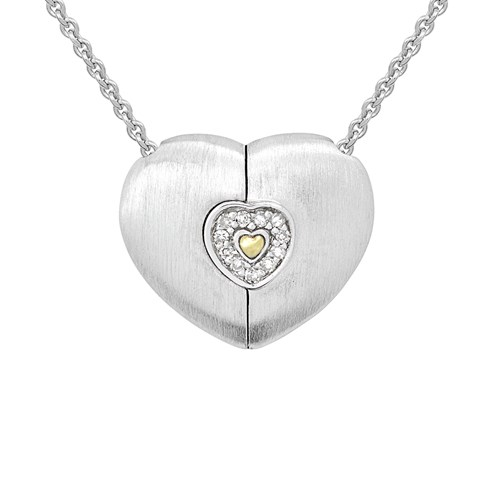 Petra Azar Heart of Gold Diamond Necklace