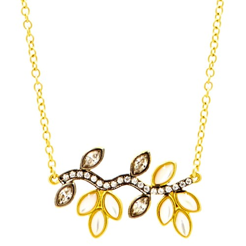 Freida Rothman Fleur Bloom Pendant Necklace
