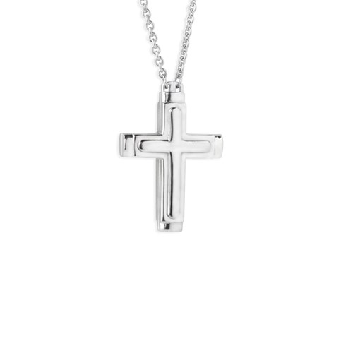 Petra Azar Credo Mini Cross Necklace