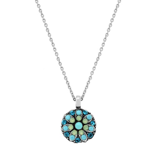 Mariana Blue Lagoon Angel Necklace