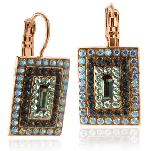 Mariana Square Zulu Earrings