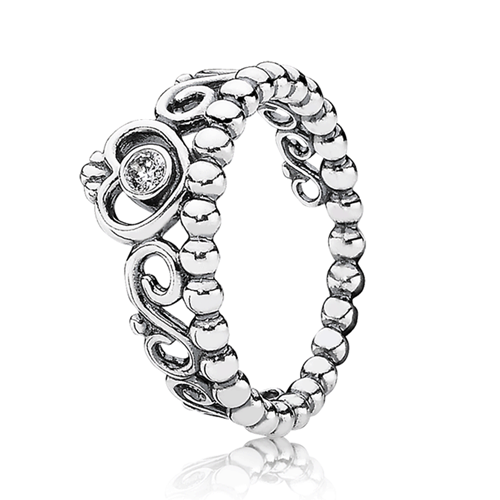 PANDORA My Princess with Clear CZ Ring