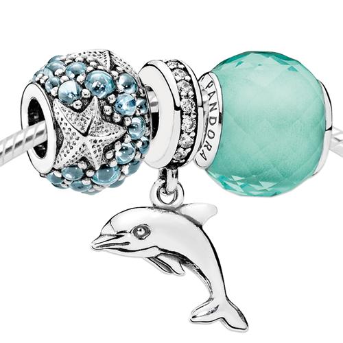 Pandora Ocean Swim Charm Set